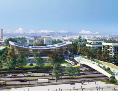 Le futur Centre Aquatique Olympique Paris 2024