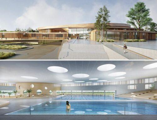Le centre aquatique Balsan'éo à Chateauroux